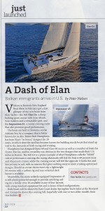 Elan Article in Sail 2016