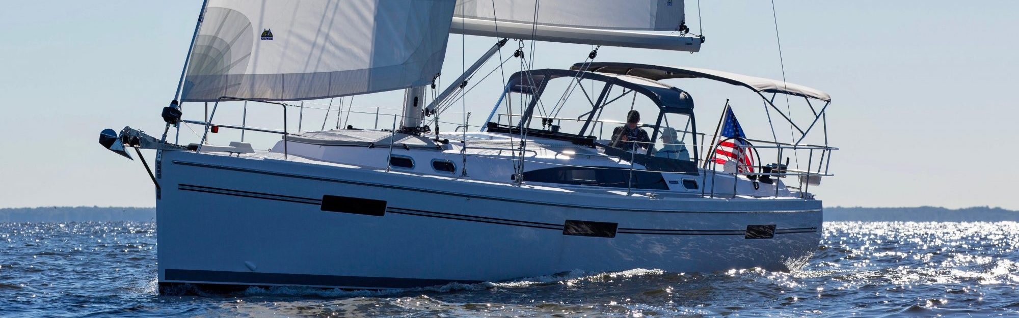 Catalina 425 at the Annapolis Sailboat Show, Annapolis MD