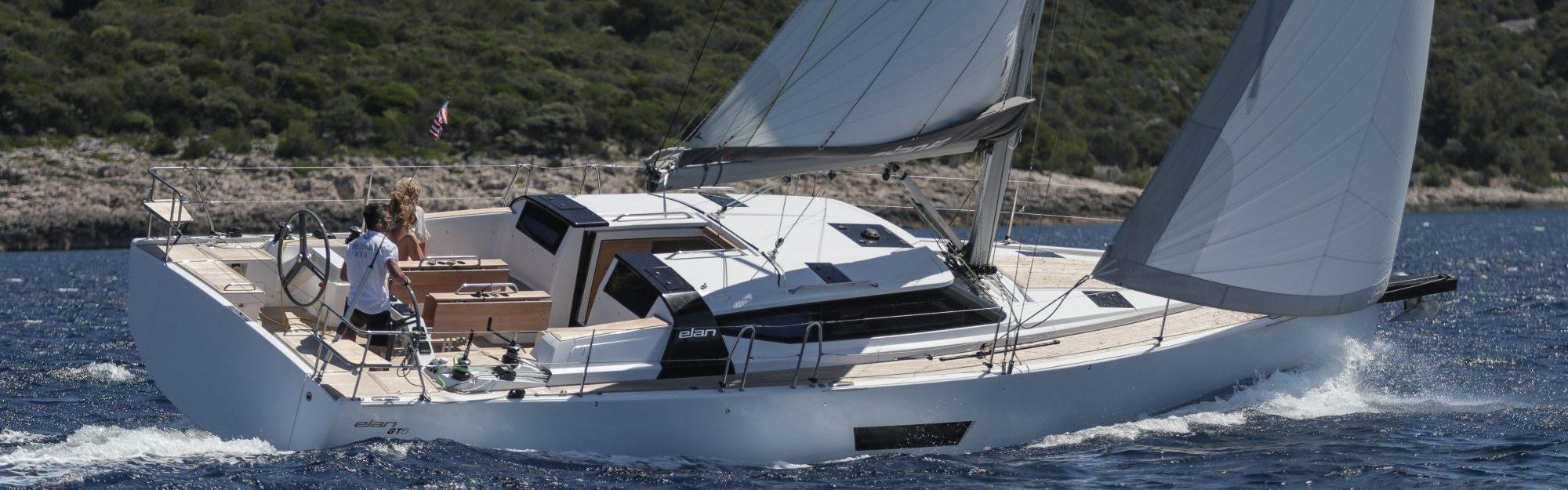 Elan GT5 sailing